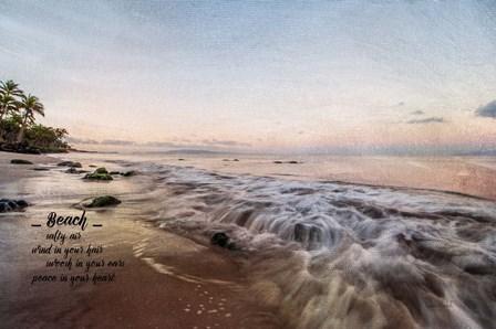 Beach by Ramona Murdock art print