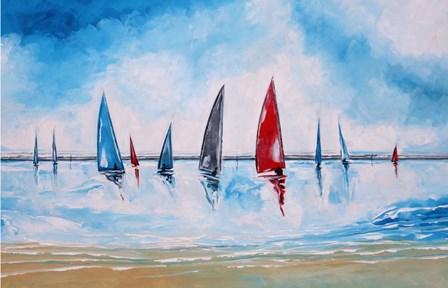 Boats II by Stuart Roy art print