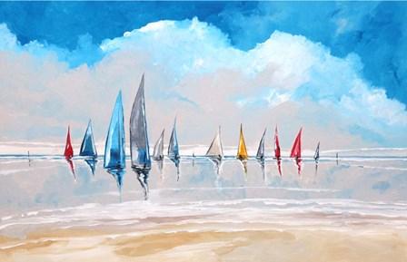 Boats IV by Stuart Roy art print
