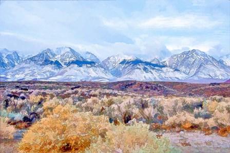 High Desert Vista I by Ramona Murdock art print