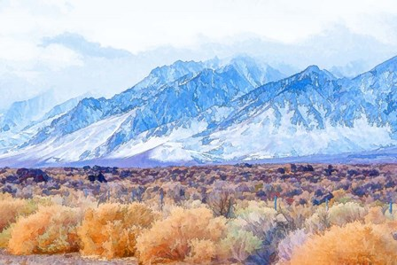 High Desert Vista II by Ramona Murdock art print