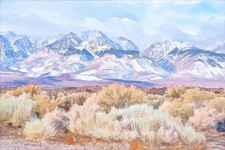 High Desert Vista III by Ramona Murdock art print