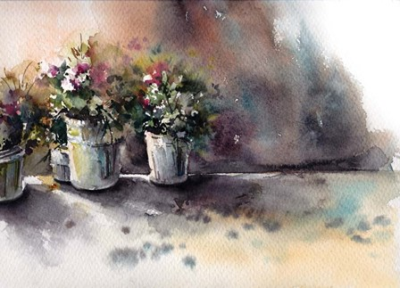Flower Pots by Sophia Rodionov art print