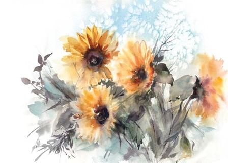 Sunflowers by Sophia Rodionov art print