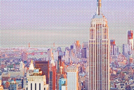 Central Park Top of the Rock by Van Tsao art print