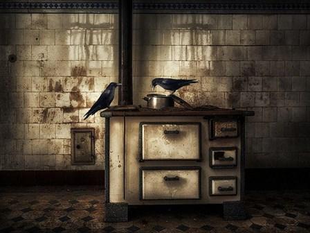 Dinner For Two by Holger Droste art print