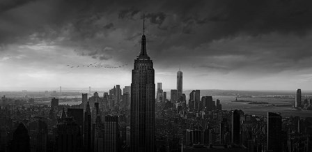 New York Rockefeller View by Wim Schuurmans art print