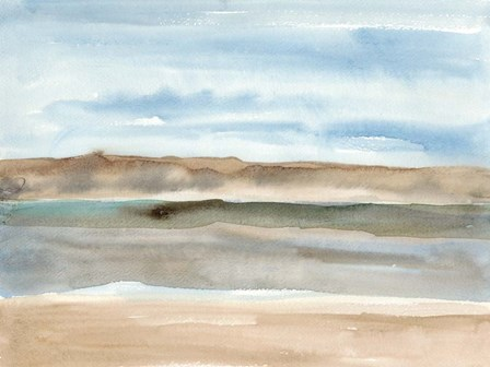 Plein Air Riverscape I by Alicia Ludwig art print