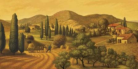 Tuscan Landscape by Dan Craig art print