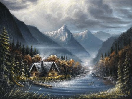 Lost Creek by Chuck Black art print