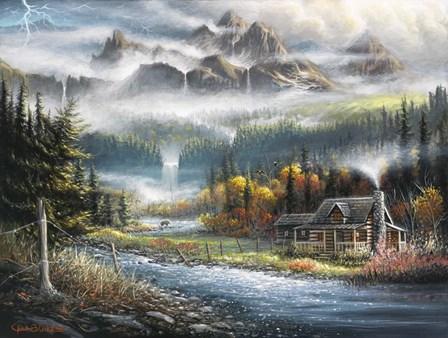 Paradise Valley by Chuck Black art print
