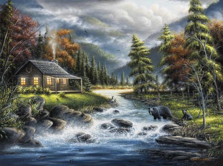 As Autumn Approaches by Chuck Black art print