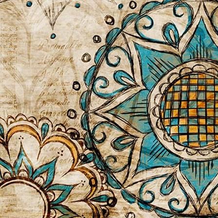 Henna Pattern II by SD Graphics Studio art print