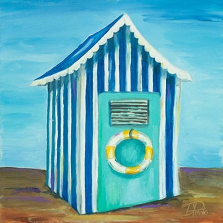 Beach Cabana II by Patricia Pinto art print