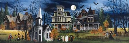 Spooky by Debbi Wetzel art print