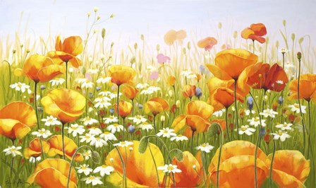 Poppies by Edward Park art print