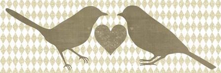 Two Bird by Erin Clark art print