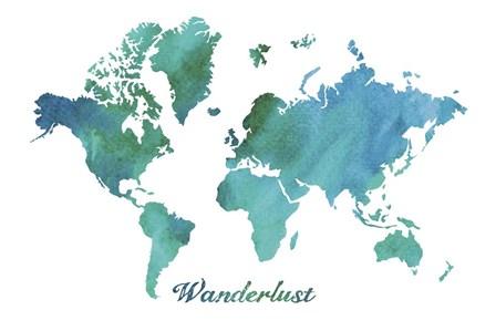 Wanderlust by Erin Clark art print