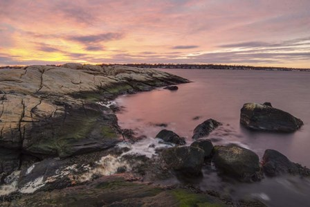Sherbet Shores by Eye of the Mind Photography art print