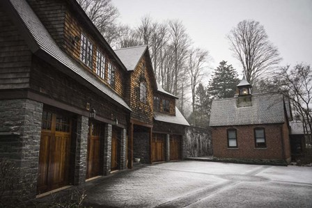 Snow Mill by Eye of the Mind Photography art print