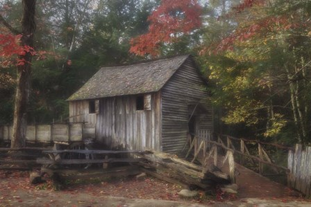 Cades Cove Grist Mill by Galloimages Online art print