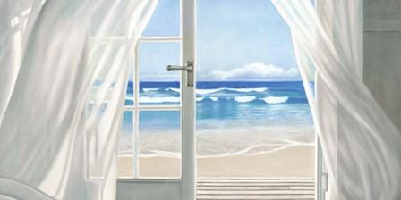 Window by the Sea (detail) by Pierre Benson art print