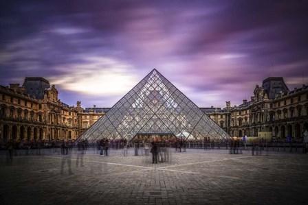 Louvre I by Giuseppe Torre art print