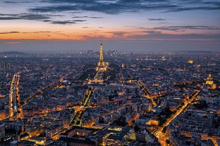 Paris by Giuseppe Torre art print