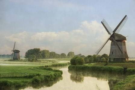 The Two Mills by Lars Van De Goor art print