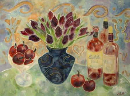 Purple Passion by Lorraine Platt art print