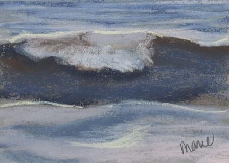 Wave Portrait No. 12 by Marie Marfia Fine Art art print