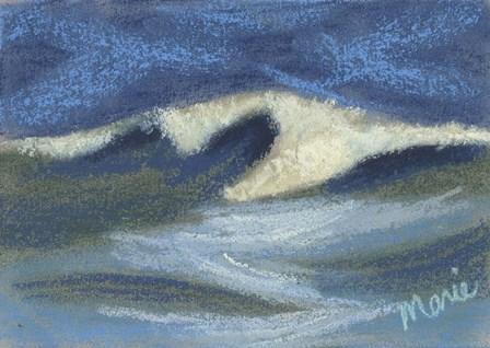 Wave Portrait No. 18 by Marie Marfia Fine Art art print