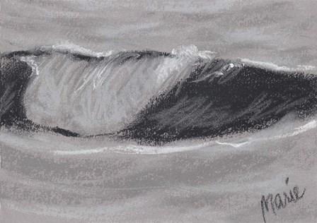 Wave Portrait No. 54 by Marie Marfia Fine Art art print