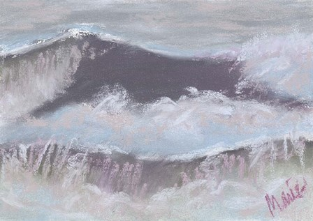 Wave Portrait No. 66 by Marie Marfia Fine Art art print