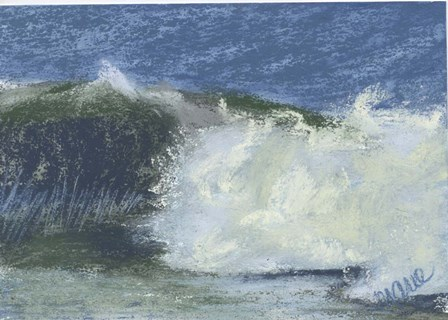 Wave Portrait No. 75 by Marie Marfia Fine Art art print