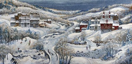 When Winter Comes 2... by Bill Bell art print