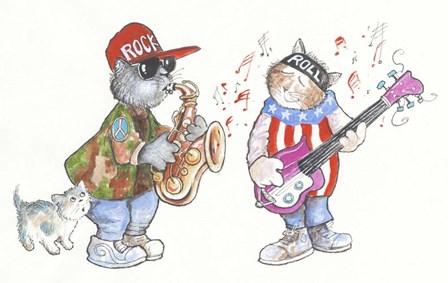 Rock & Roll by Bill Bell art print