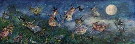 Cat Catchers by Bill Bell art print