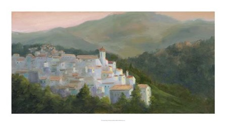 Spanish Village by Mary Jean Weber art print