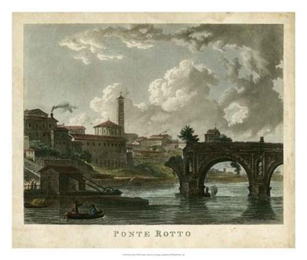 Ponte Rotto by Merigot art print