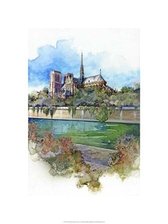 Notre Dame - Paris, France by Bruce White art print