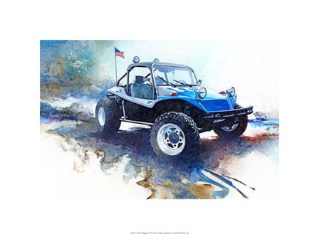 '72 Dune Buggy by Bruce White art print