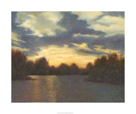 Evening Glow by Mary Jean Weber art print