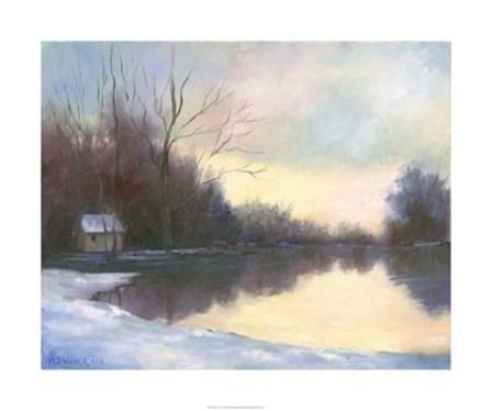 Winter Glow by Mary Jean Weber art print