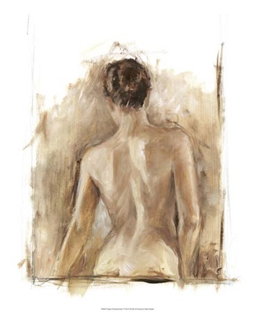 Figure Painting Study I by Ethan Harper art print
