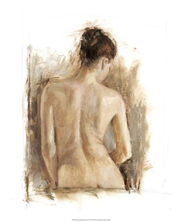 Figure Painting Study II by Ethan Harper art print