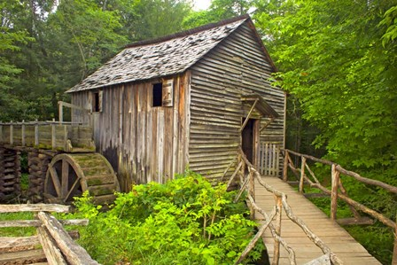 Cable Grist Mill by Bob Rouse art print