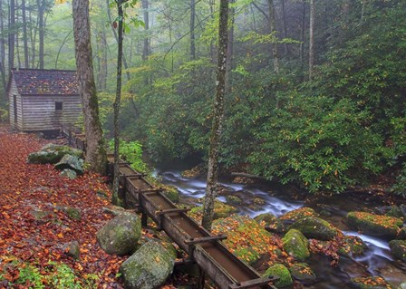 Roaring Fork Mill by Bob Rouse art print
