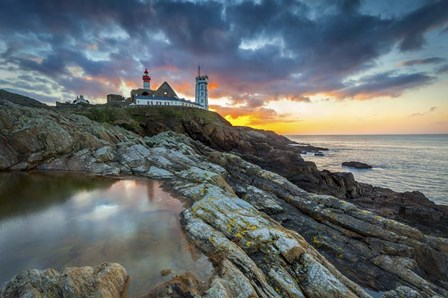 Sunrise In Brittany by Mathieu Rivrin art print