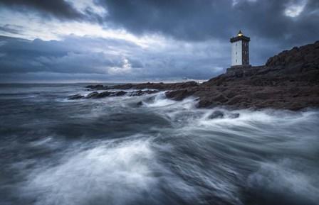 The Lighthouse by Mathieu Rivrin art print